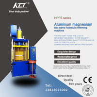 HPFS aluminum magnesium box servo hydraulic trimming  machine