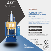 HPFS hydraulic servo trimming machine for casting  steel parts